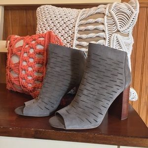 1. State Shiya Suede Bootie, Gray, 7.5